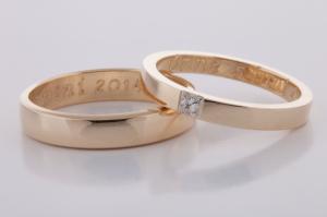 Geel gouden ringen 1