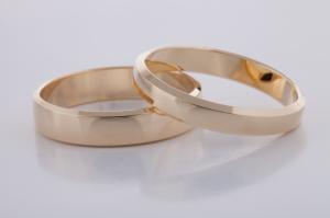 Geel gouden ringen 2