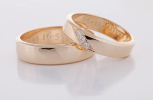 Geel gouden ringen 3