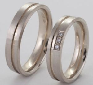 wit gouden ringen 10